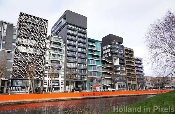 Nederland Lelystad - Januari 2018. Zilverpark. Kantoren en appartementen.  Foto Berlinda van Dam / Hollandse Hoogte
