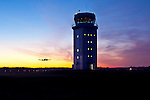 Hernando County Airport Control Tower at dawn.