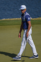 Rafael Cabrera Bello (ESP) barely misses his par putt on 11 during day 1 of the WGC Dell Match Play, at the Austin Country Club, Austin, Texas, USA. 3/27/2019.<br /> Picture: Golffile | Ken Murray<br /> <br /> <br /> All photo usage must carry mandatory copyright credit (&copy; Golffile | Ken Murray)