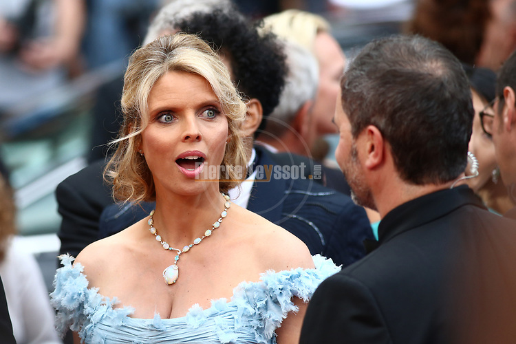 Cannes Film Festival 2018 - 71st edition - Day 3 - May 10 in Cannes, on May 10, 2018; Screening of PLAIRE, AIMER et COURIR VITE; Sylvie Tellier © Pierre Teyssot / Maxppp