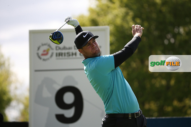 Lucas Bjerregaard (DEN) during Round One of the 2016 Dubai Duty Free Irish Open Hosted by The Rory Foundation which is played at the K Club Golf Resort, Straffan, Co. Kildare, Ireland. 19/05/2016. Picture Golffile | David Lloyd.<br /> <br /> All photo usage must display a mandatory copyright credit as: &copy; Golffile | David Lloyd.