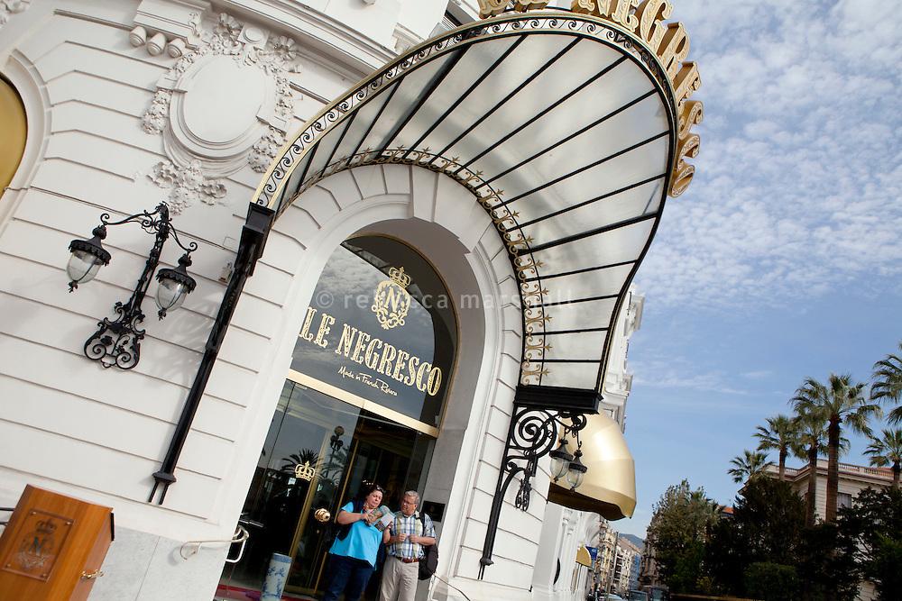 Negresco Hotel, Nice, France, 28 April 2012