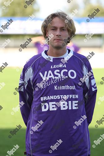 2007-08-04 / Voetbal / Gooreind / Lieven Bosmans