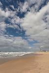 Israel, Southern Coastal Plain. The coast at Zikim