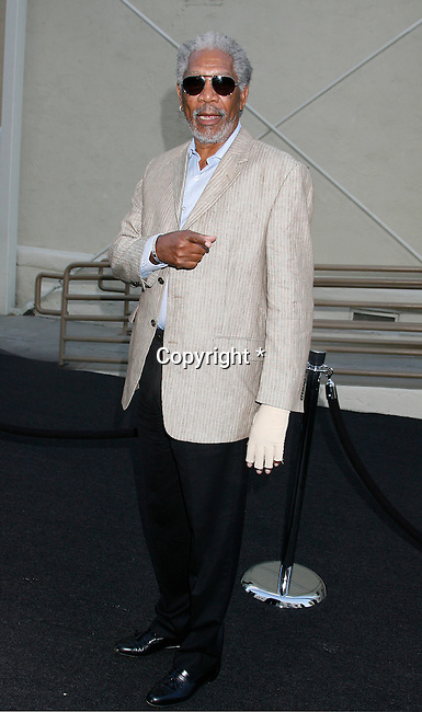 "HOLLYWOOD, CA. - September 08: Morgan Freeman arrives at the ""Get Schooled"" Los Angeles Conference and Premiere at the Paramount Studios Lot on September 8, 2009 in Los Angeles, California."