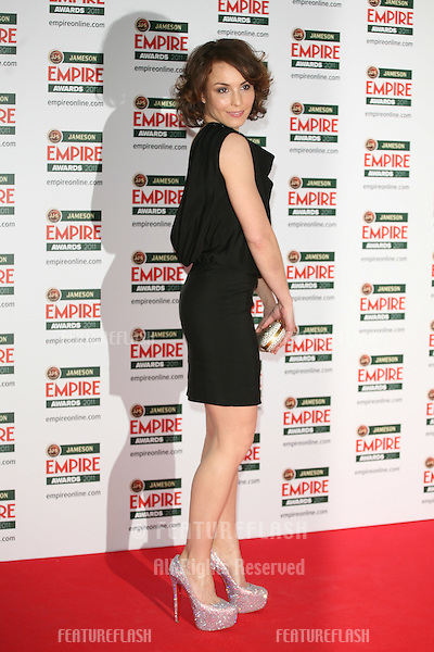 Noomi Rapace arriving for the Jameson Empire Awards 2011, Grosvenor House Hotel, London. 27/03/2011  Picture by: Alexandra Glen / Featureflash