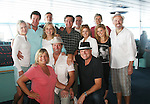 12 Guiding Light Actors - Beth Chamberlin, Liz Keifer, Mandy Bruno, Kim Zimmer, Tina Sloan, Grant Aleksander, Ron Raines, Robert Bogue, Michael O'Leary, Robert Newman, Jordan Clarke, Frank Dicopoulos - Day 5 Wednesday - August 4, 2010 - So Long Springfield at Sea - A Final Farewell To Guiding Light sets sail from NYC to St. John, New Brunwsick and Halifax, Nova Scotia from July 31 to August 5, 2010  aboard Carnival's Glory (Photos by Sue Coflin/Max Photos)
