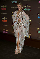 Tallia Storm arrives at the Magnum X Moschino party during the 70th Annual Cannes Film Festival at Plage l'Ondine in Cannes, France, on 18 May 2017. Photo: Hubert Boesl - NO WIRE SERVICE · Photo: Hubert Boesl/dpa /MediaPunch ***FOR USA ONLY***