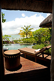 MAURITIUS, Chemin Grenier, South Coast, view of the Indian Ocean from a luxury suit, Hotel Shanti Maurice