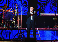 15 June 2019 - Hamilton, Ontario, Canada.  Lee Loughnane of iconic band Chicago performs live in concert at FirstOntario Centre. Photo Credit: Brent Perniac/AdMedia