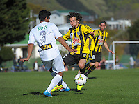 140831 A-League Preseason Football - Wellington Phoenix v Wellington XI