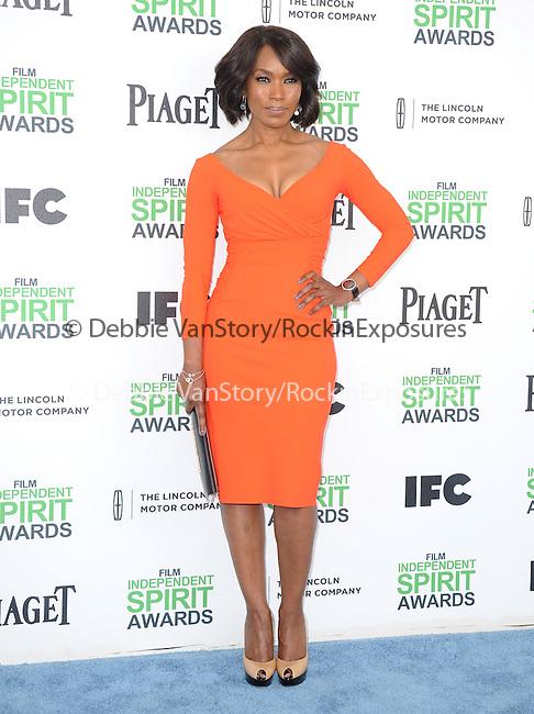 Angela Bassett<br />  attends The 2014 Film Independent Spirit Awards held at Santa Monica Beach in Santa Monica, California on March 01,2014                                                                               © 2014 Hollywood Press Agency