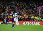 9th September 2017, Camp Nou, Barcelona, Spain; La Liga football, Barcelona versus Espanyol; FC Barcelona supporters;