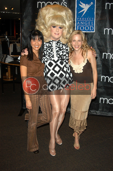 Suzanne Wong, Lady Bunny and Julie Benz
