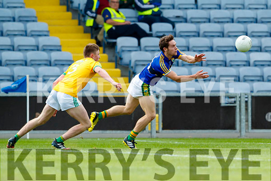 Kerry in action against  Meath in the All Ireland Junior Football Final at O'Moore Park, Portlaoise on Saturday.
