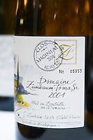 Domaine Zumbaum-Tomasi, Clos Maginiai. Pic St Loup. Languedoc. France. Europe. Bottle.