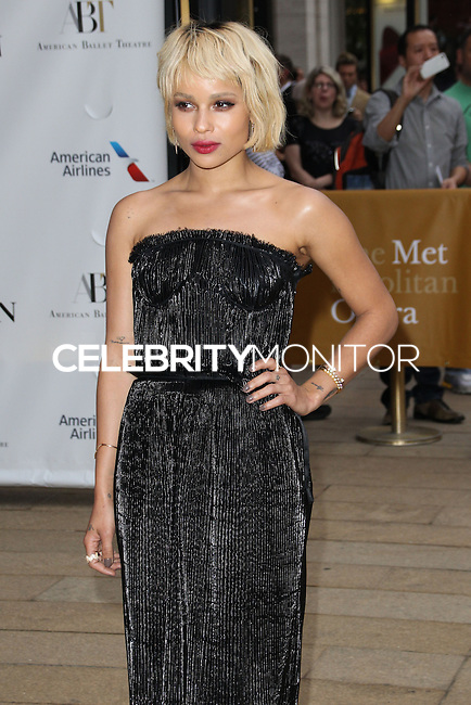 NEW YORK CITY, NY, USA - MAY 12: Zoe Kravitz at the American Ballet Theatre 2014 Opening Night Spring Gala held at The Metropolitan Opera House on May 12, 2014 in New York City, New York, United States. (Photo by Celebrity Monitor)