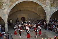 Europe/France/Languedoc-Roussillon/66/Pyrénées -Orientales/Perpignan : Sardagne au Palais des Rois de Majorque