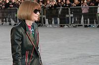 Anna Wintour - ARRIVEES AU DEFILE 'VUITTON' AU LOUVRE - FASHION WEEK DE PARIS