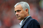 Manchester United manager Jose Mourinho  during the Premier League match at Old Trafford Stadium, Manchester. Picture date: September 24th, 2016. Pic Sportimage