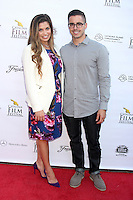 Danielle Fishel, Tim Belusko<br /> at the Catalina Film Festival Gala, Casino Avalon, Catalina Island, CA 09-27-14<br /> David Edwards/DailyCeleb.com 818-915-4440