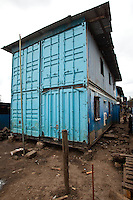 Nairobi, June 2010 -  The Jenracy  Children's Program and community school suffered a devastating fire but it is a well-run operation and they were able to secure the  andshipping containers to quickly  restart the school.