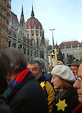 20121127_Proteste in Budapest gegen Antisemitismus / Protests in Budapest aginst Atisemtisim