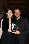 Ana Villafane & Mauricio Martinez (stars of On Your Feet) at 30th Anniversary of the Jane Elissa Extravaganza to benefit The Jane Elissa Charitable Fund for Leukemia & Lymphoma Cancer, Broadway Cares & other charities on October 30. 2017 at the New York Marriott Marquis, New York, New York. (Photo by Sue Coflin/Max Photo)