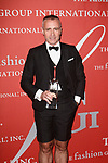 Designer Thom Browne receives a Star award at The Fashion Group International's Night of Stars 2017 gala at Cipriani Wall Street on October 26, 2017.