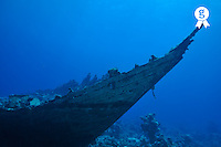 Wooden fishing Shipwreck underwater, Red Sea, Egypt (Licence this image exclusively with Getty: http://www.gettyimages.com/detail/81867333 )