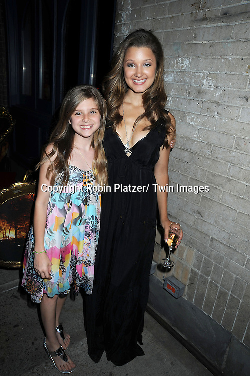 Isabella Palmieri and Valentina de Angelis who plays Natalie attending the As The World Turns Final Wrap Party on June 18, 2010 at The Collective in New York City.