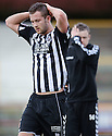 Elgin's Jamie Duff and Daniel Moore (14) are distraught at the end of the game after losing the play off semi final .....