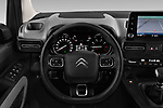 Car pictures of steering wheel view of a 2019 Citroen Berlingo Shine 5 Door MPV