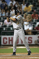 Salt Lake Bees Terry Evans during the 2007 Pacific Coast League Season. Photo by Andrew Woolley/ Four Seam Images.