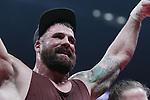 Adam ''The Boogeyman'  Braidwood derroto por ko en el 4 asalto a Eric Martel - Bahoeli en el Centre  Videtron de Quebec City en Canada