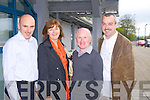 Pictured at the Mercy Mounthawk Parents Council ten year celebration on Tuesday evening, from left: Jerome Linnane, Eileen Reilly, Richard OHalloran and John Ferguson..