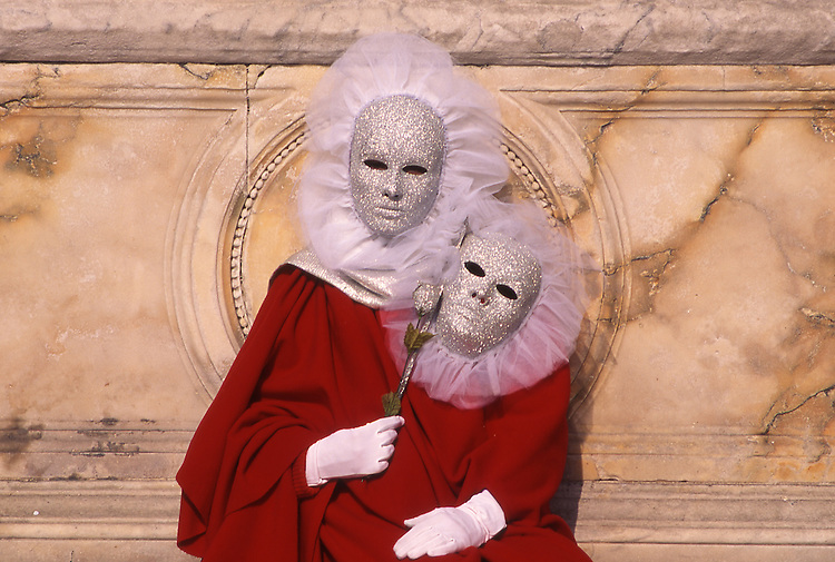 Europe, ITA, Italy, Venetien , Venice, Carnival, Typical fancy dress, Mask, ....[ For each utilisation of my images my General Terms and Conditions are mandatory. Usage only against use message and proof. Download of my General Terms and Conditions under http://www.image-box.com or ask for sending. A clearance before usage is necessary...Material is subject to royalties. Each utilisation of my images is subject to a fee in accordance to the present valid MFM-List...Contact   archive@image-box.com   www.image-box.com ]