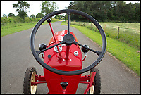 BNPS.co.uk (01202 558833)<br /> Pic: Bonhams/BNPS<br /> <br /> Fancy a classic Porsche...tractor.<br /> <br /> One of the most stylish tractors of all time which was built by iconic sports car manufacturer Porsche has emerged. <br /> <br /> Porsche is celebrated for its racy 911 and Boxster models but few know about the German marque's dip into the agricultural market around 60 years ago. <br /> <br /> This rare survivor is a Junior L108 dating to 1961, which is set to fetch &pound;45,000 when it goes under the hammer with Bonhams auctioneer next month. <br /> <br /> The L108 was conceived by pioneering engineer Ferdinand Porsche, founder of the marque, shortly before his death in 1951.
