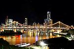 Brisbane's Story Bridge.  Brisbane, Australia. Sunday 4th May 2014. (Photo: Steve Christo)