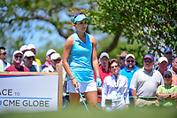 Lexi Thompson (USA) prepares to tee off on 10 during round 1 of  the Volunteers of America Texas Shootout Presented by JTBC, at the Las Colinas Country Club in Irving, Texas, USA. 4/27/2017.<br /> Picture: Golffile | Ken Murray<br /> <br /> <br /> All photo usage must carry mandatory copyright credit (&copy; Golffile | Ken Murray)