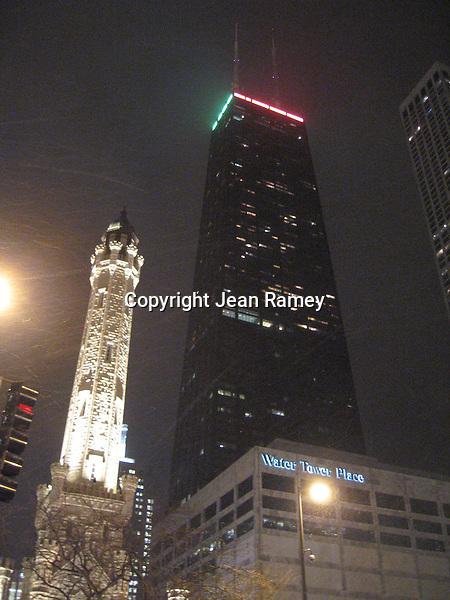 Water Tower & John Hancock