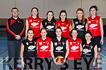 St Mary&rsquo;s Basketball Club head to All Ireland Basketball finals. Kneeing l-r, Orla White, Mary Herlihy, Aoife Nolan, Eileen O&rsquo;Connor and Nicole Downey.<br /> Back l-r, Coach Liam Culloty, Ciara Ryan, Denise Dunlea, Rachel Ryan, Katie Reidy and Lorraine Scanlon.