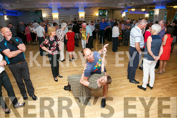 Enjoying the Sweets of May Dancing at the Earl of Desmond on Friday were Patrick Lynch and Mary Govia
