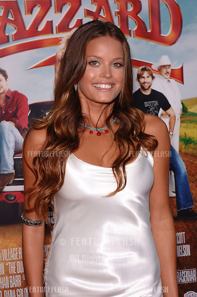 Australian actress JACQUI MAXWELL at the Los Angeles premiere of her new movie The Dukes of Hazzard..July 28, 2005 Los Angeles, CA.© 2005 Paul Smith / Featureflash