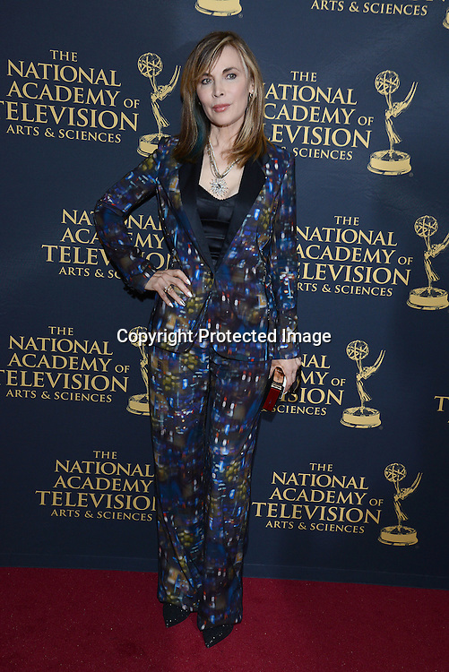 Lauren Koslow attends the Creative Arts Emmy Awards on April 24, 2015 at the Universal l Hilton in Universal City,<br /> California, USA.
