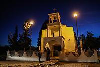 church and square of Cuquiarachi.<br /> Cuquiarachic. belonging to the municipality of Fronteras, Sonora. (Photo: LuisGutierrez / NortePhoto.com) <br />  <br /> iglesia y plaza de cuquiarachi.<br /> Cuquiarachic. perteneciente al municipio de Fronteras, Sonora. (Foto: LuisGutierrez / NortePhoto.com)