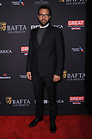 06 January 2018 - Beverly Hills, California - O-T Fagbenle. 2018 BAFTA Tea Party held at The Four Seasons Los Angeles at Beverly Hills in Beverly Hills.    <br /> CAP/ADM/BT<br /> &copy;BT/ADM/Capital Pictures