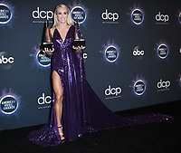 24 November 2019 - Los Angeles, California - Carrie Underwood. 2019 American Music Awards - Press Room held at Microsoft Theater. Photo Credit: Birdie Thompson/AdMedia