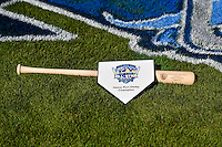 The winners trophy for the Home Run Derby at the 2nd Annual Northwest League-Pioneer League All-Star Game at Lindquist Field on August 2, 2016 in Ogden, Utah. The Northwest League defeated the Pioneer League 11-5. (Stephen Smith/Four Seam Images)