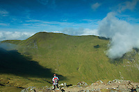 Meall Corranaich from Ben Lawers, Perthshire